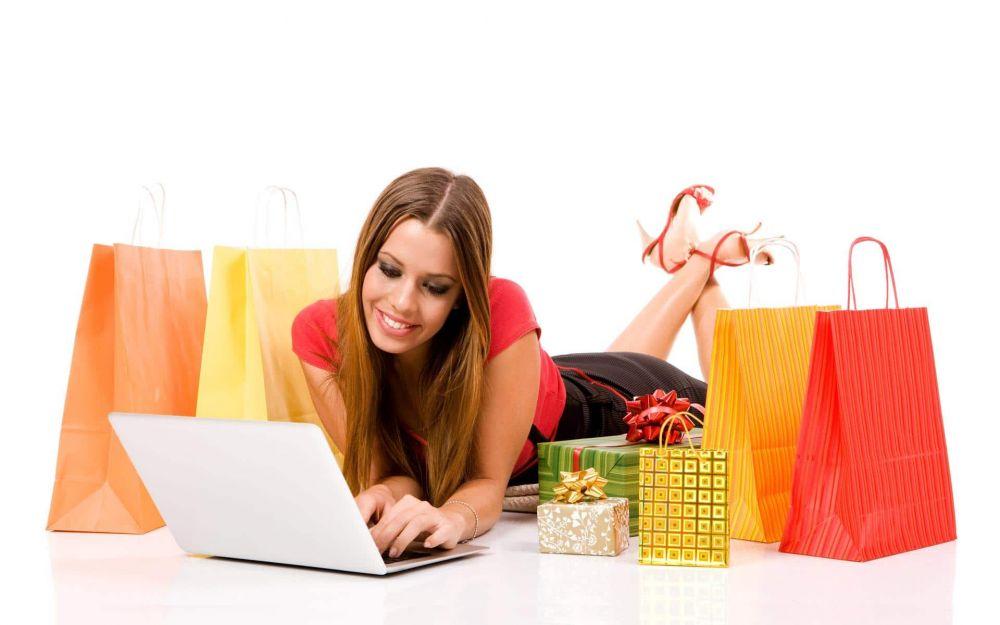 Woman-e-commerce
