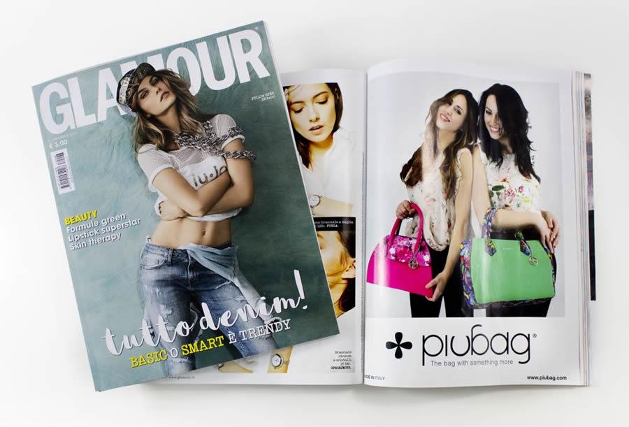 borse piubag rivista glamour